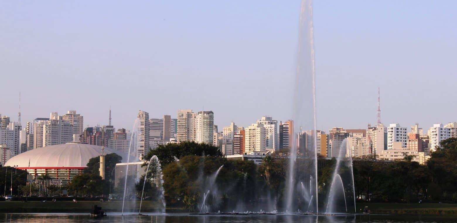 Sao Paulo is one of the world's greenest large cities.