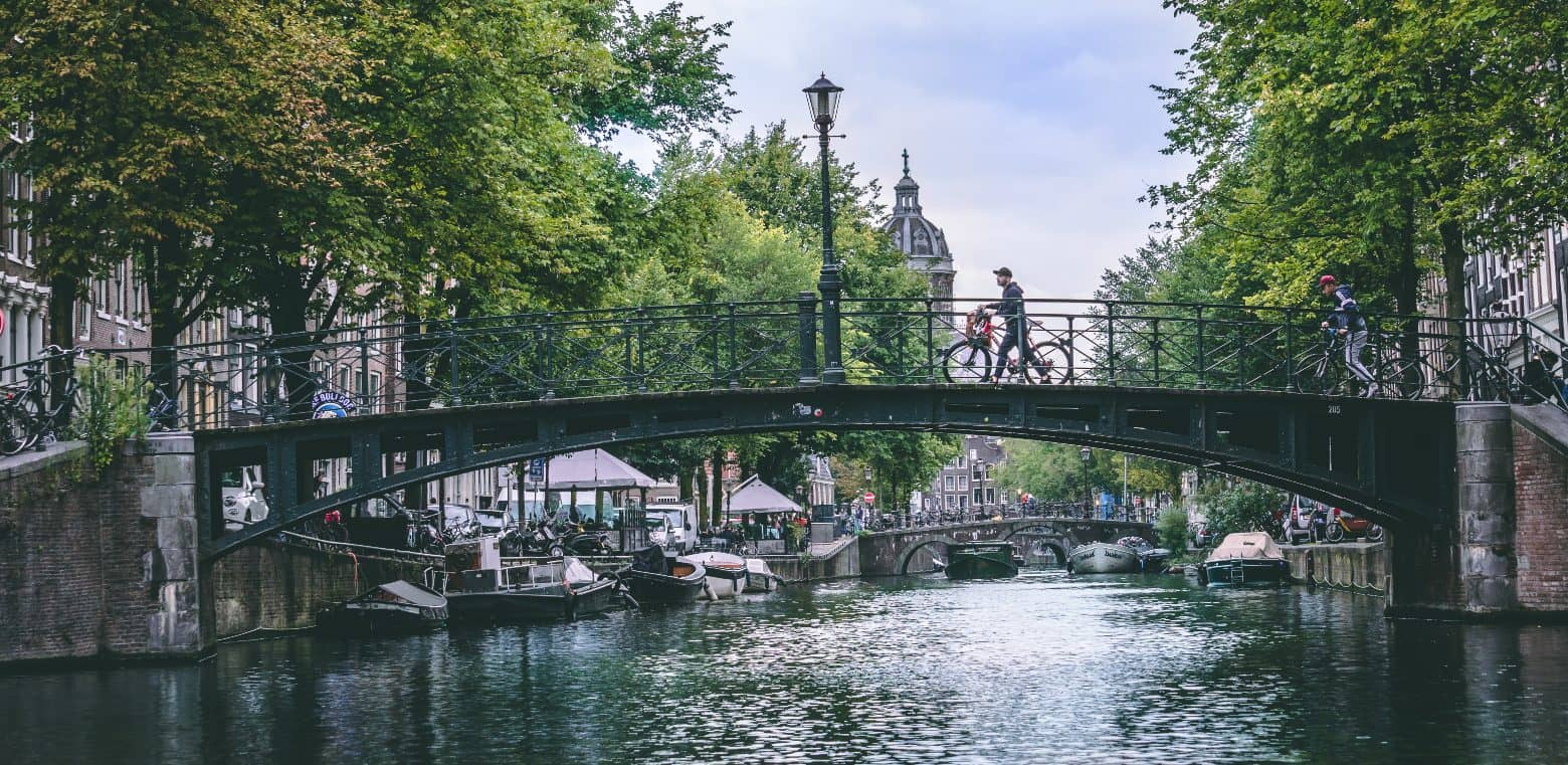 Amsterdam is one of the world's greenest large cities.